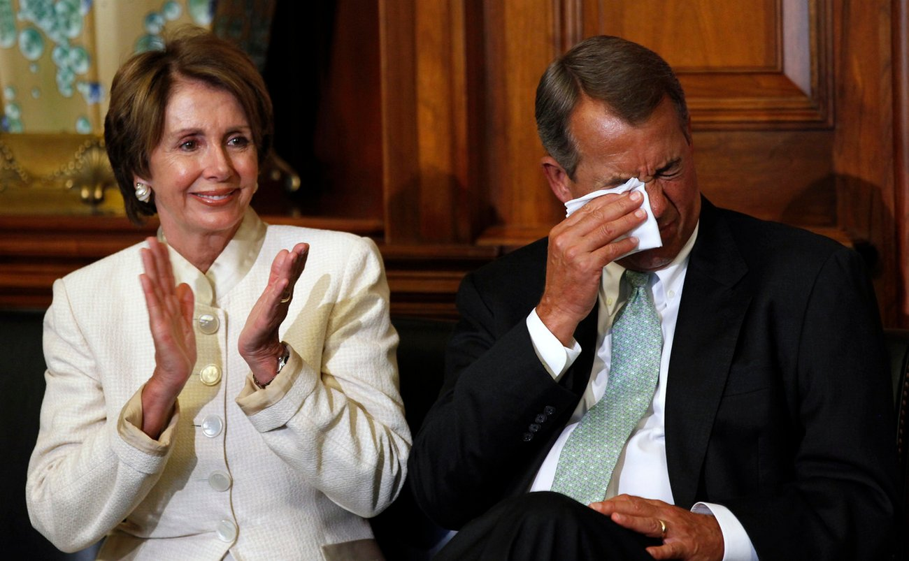 Boehner About to be Fired?