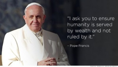 """""""Pope Francis does not reject capitalism"""""""