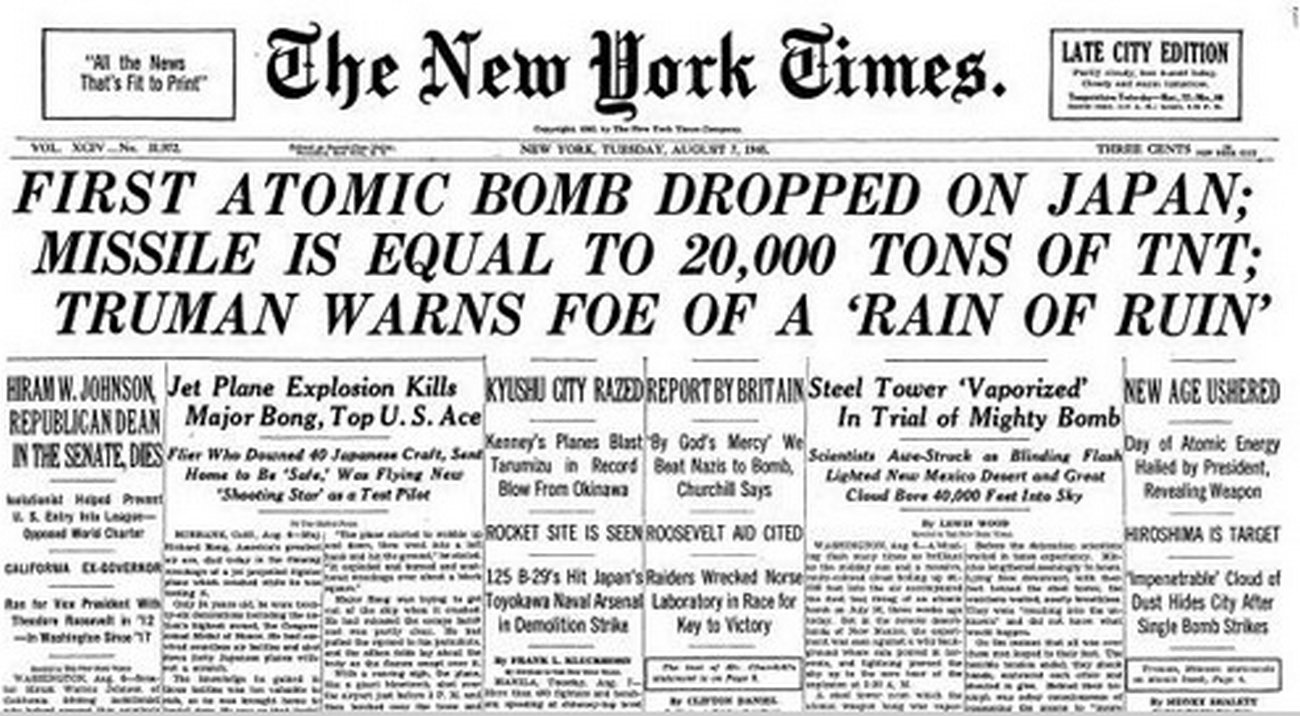 70 Years Ago, Hiroshima Was Obliterated