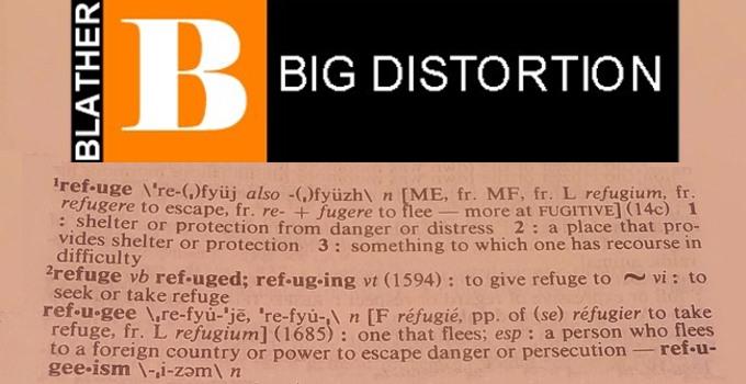 Breitbart's Big Distortion