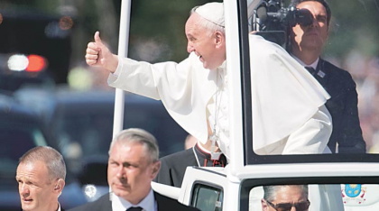 """""""If you have a problem with this message, you have a problem not with Pope Francis, but with Jesus Christ."""""""