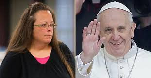 Pope Francis Meets with Kim Davis