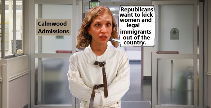 DNC's Delusional Leader