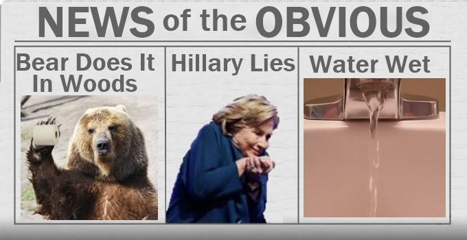 Hillary Caught Lying?