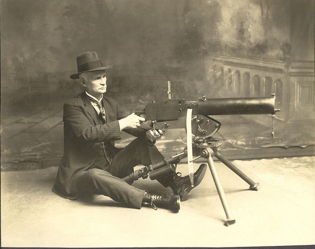 Belated Happy Birthday to Moses, (John Moses Browning that is).