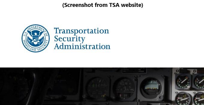 Dear Parents: Read the TSA rules before flying.