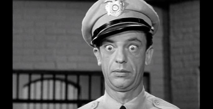 Oklahoma's Barney Fife Convicted Of Manslaughter