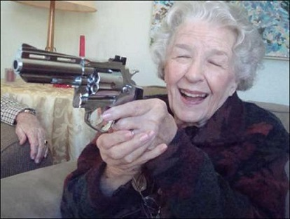 Great-Grandmother Shoots and Kills Intruder