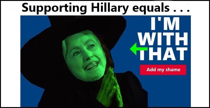 Hillary Clinton for President? No way!