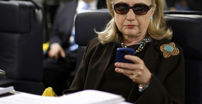 Quote Of The Day – Hillary Without An Ounce Of Irony Edition