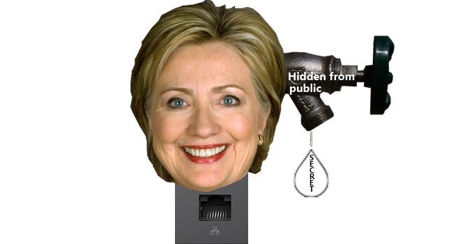 Drip, Drip, Drip Go Clinton Revelations