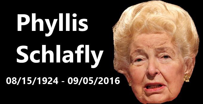 Phyllis Schlafly Was No Saint