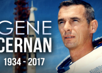 An Inauspicious Start For 2017; Captain Gene Cernan, USN(ret), Last Man To Walk On The Moon, Dies.