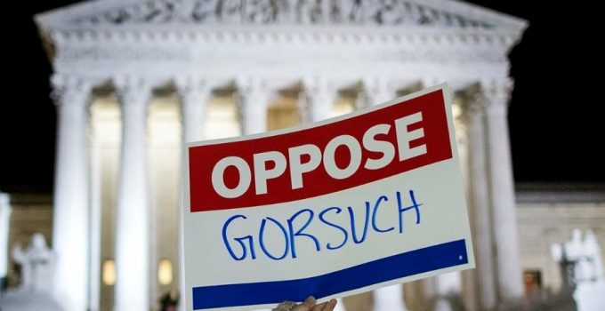 Democrats to Filibuster Gorsuch