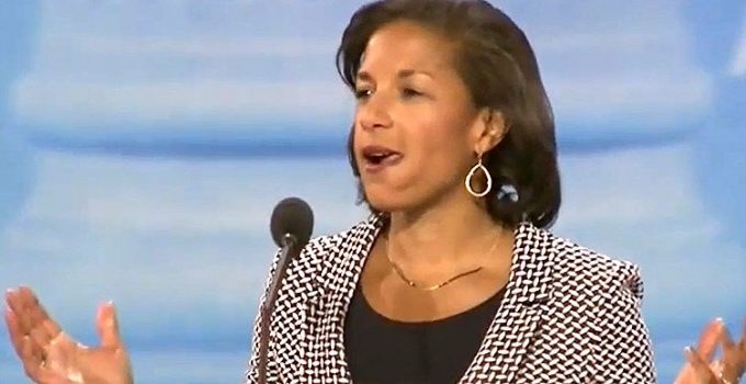 Unmasking Susan Rice and OPEN THREAD