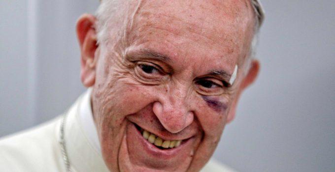 Pope Francis Rebuked