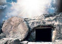 He is risen; He is not here
