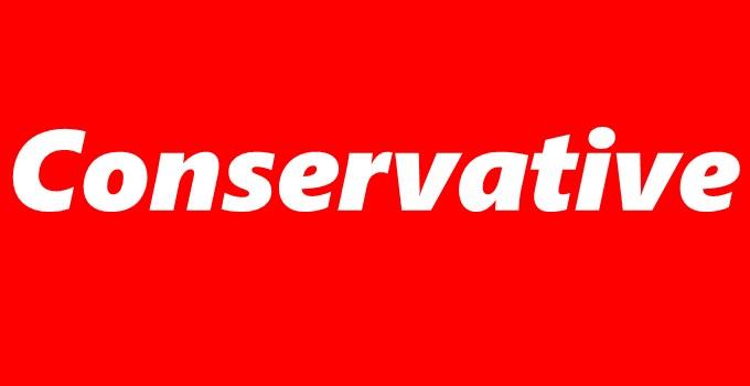 "Define ""Conservative"""