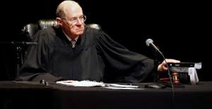 Associate Justice Anthony Kennedy Announces Retirement