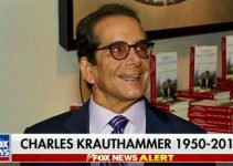 Rest In Peace, Charles Krauthammer.