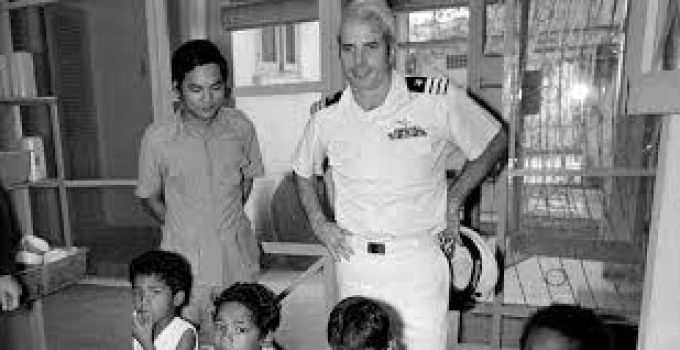 John S. McCain III, U. S. Senator for Arizona, Captain United States Navy (retired) Has Died