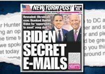 <i>New York Post</i> Publishes Smoking Gun Evidence Of Biden Corruption